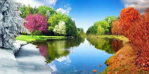 tél, tavasz, nyár ősz